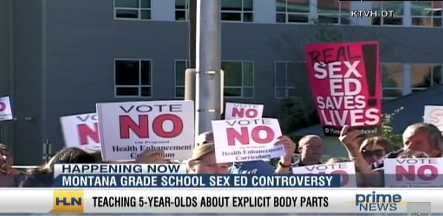 Contraversy in teaching sex education
